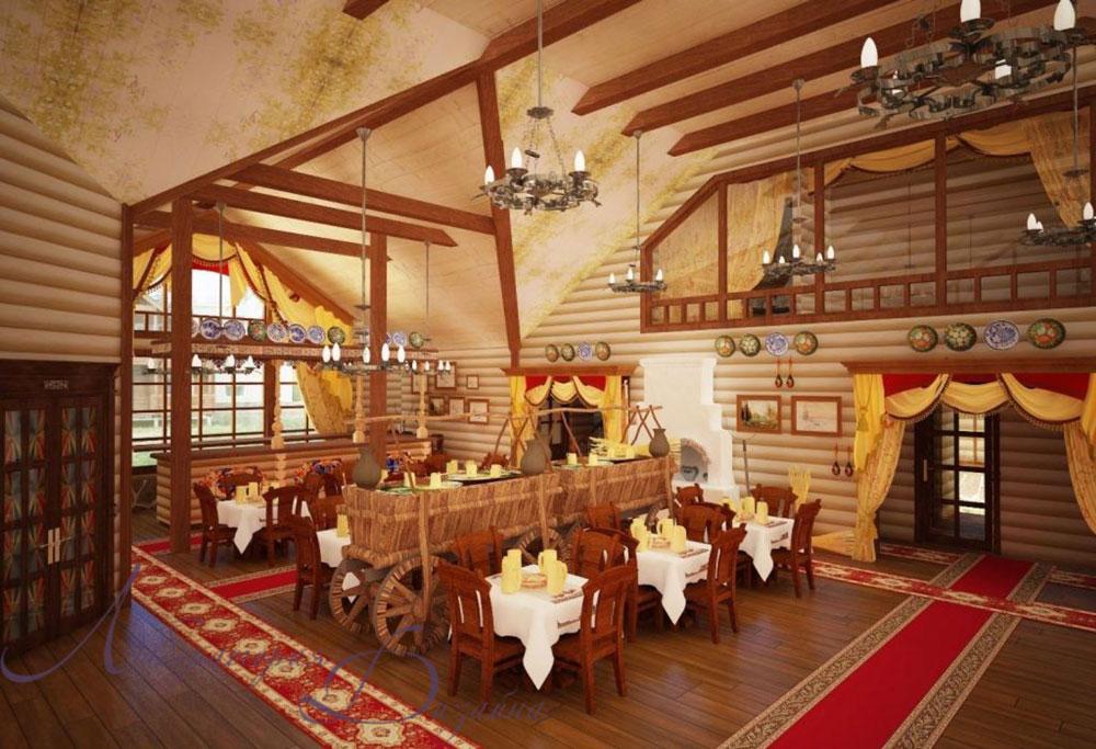 учетом высоких дизайн кафе в русско народном стиле фото что нянчить